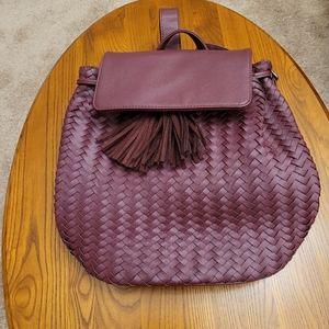 Deux Lux burgundy backpack